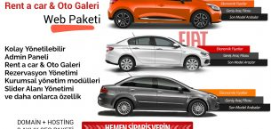 Rent A Car Web Paketi